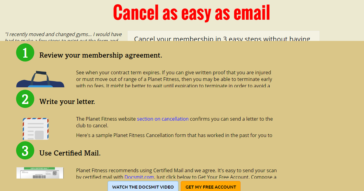 Planet Fitness Cancellation Form Heartpulsar